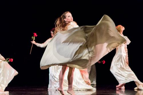 Brides Choreographed by Beverly Blossom, November Dance: Attachment 2015, Photo by Natalie Fiol